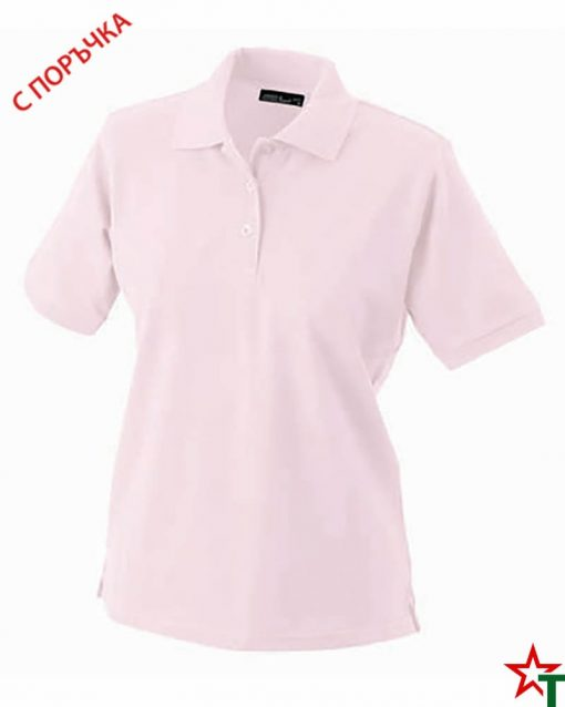 Light Pink Дамска риза Lady Classic Polo