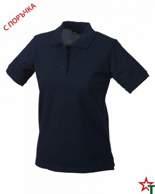 Deep Navy Дамска риза Lady Classic Polo