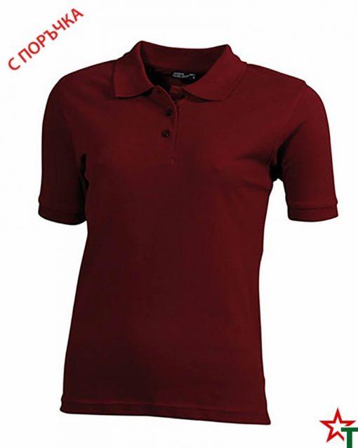 Brickred Дамска риза Lady Classic Polo
