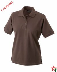 Chocolate Дамска риза Lady Classic Polo