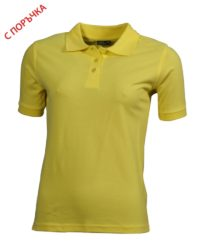 Yellow Дамска риза Lady Classic Polo