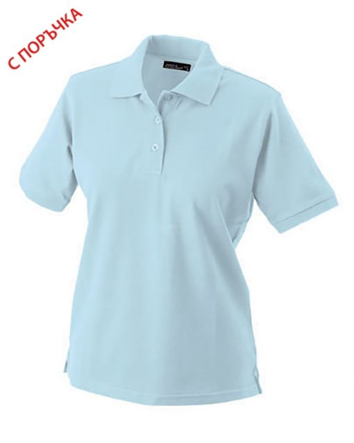 Light Blue Дамска риза Lady Classic Polo