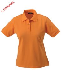 Lightb Orange Дамска риза Lady Classic Polo