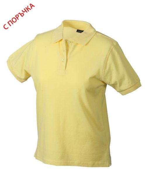 Light Gold Дамска риза Lady Classic Polo