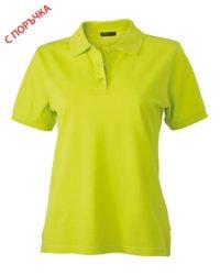 Bright Yellow Дамска риза Lady Classic Polo