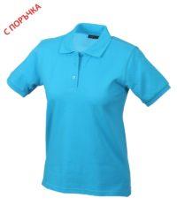 Azure Blue Дамска риза Lady Classic Polo