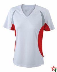 White-Red Дамска спортна тениска Lady Run