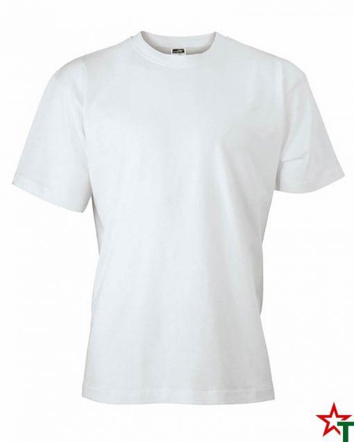 White Унисекс тениска Base