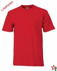 Red Унисекс тениска Base