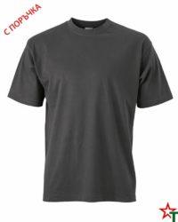 Light Graphite Унисекс тениска Base