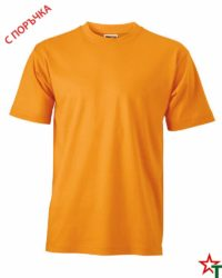 Light Orange Унисекс тениска Base