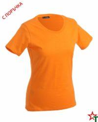 Light Orange Дамска тениска Simpala