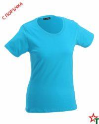 Azure Blue Дамска тениска Simpala