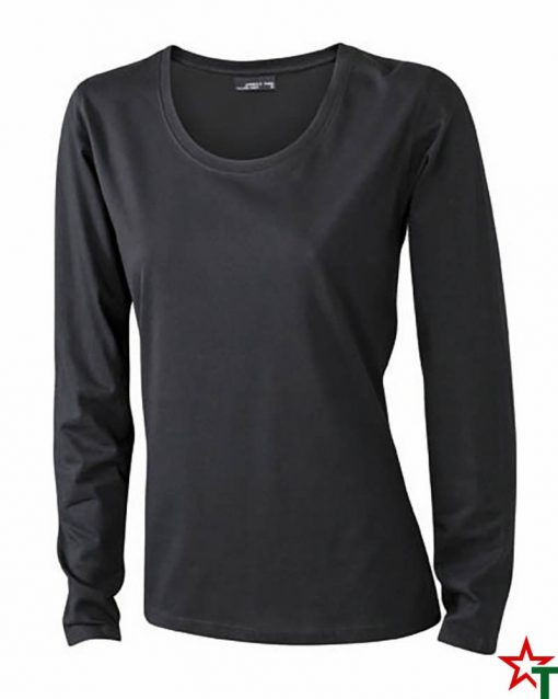 Black Дамска тениска Silva Long Medium