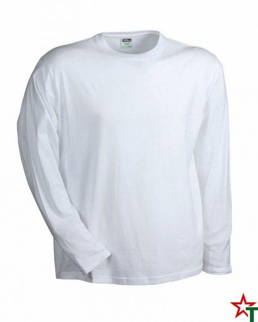 White Мъжка тениска Sten Long Medium