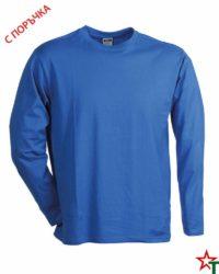 Royal Blue Мъжка тениска Sten Long Medium