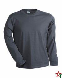 Light Graphite Мъжка тениска Sten Long Medium