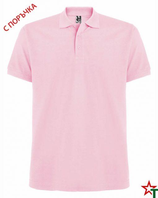 Light Pink Мъжка риза Estarell