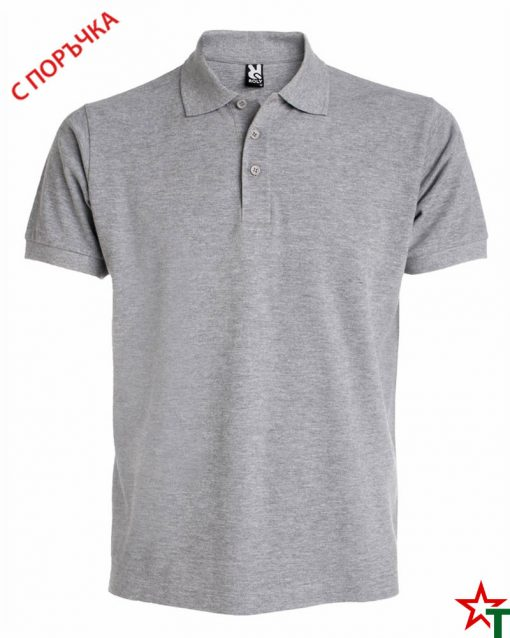 Heather Grey Мъжка риза Estarell