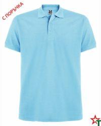 Sky Blue Мъжка риза Estarell