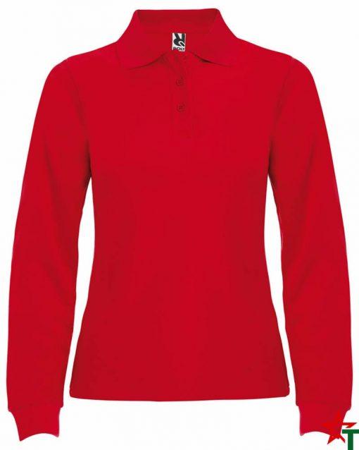 Red Дамска риза Chitta Long