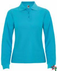 Azure Blue Дамска риза Chitta Long
