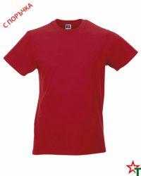 Red Мъжка тениска Apolo Slim