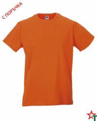 Orange Мъжка тениска Apolo Slim