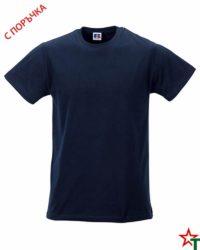Deep Navy Мъжка тениска Apolo Slim