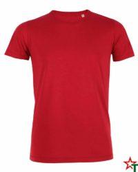 Red Мъжка тениска Stanley Organic