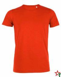 Orange Мъжка тениска Stanley Organic