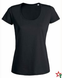 Black Дамска тениска Sansa Organic
