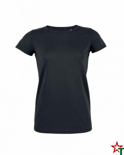 Black Дамска тениска Stella Organic