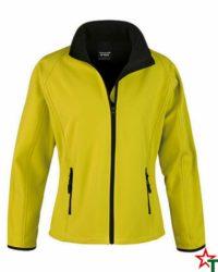 Yellow-Black Дамско яке Lola