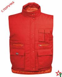 Red Работен елек Body Warmer 35-65