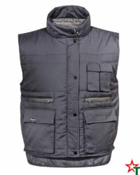 Light Graphite Работен елек Body Warmer 35-65