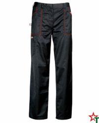 Black Работен панталон Operation Color Seam