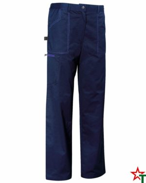 Deep Navy Работен панталон Operation Color Seam
