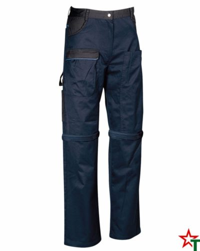 Navy-Black Работни панталони Bermuda