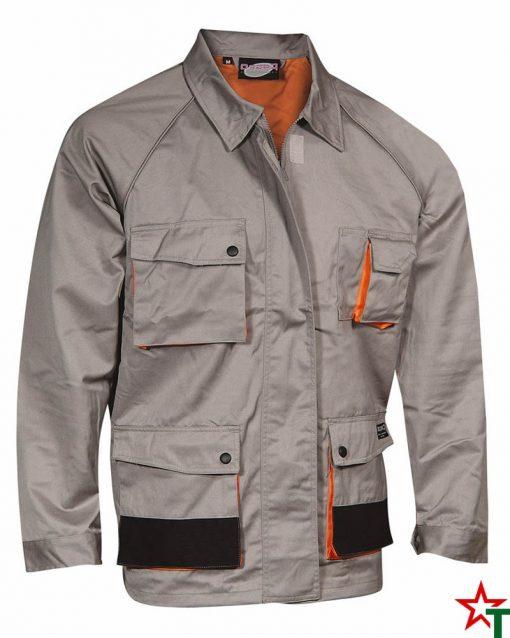Gray-Orange Работно яке W1088