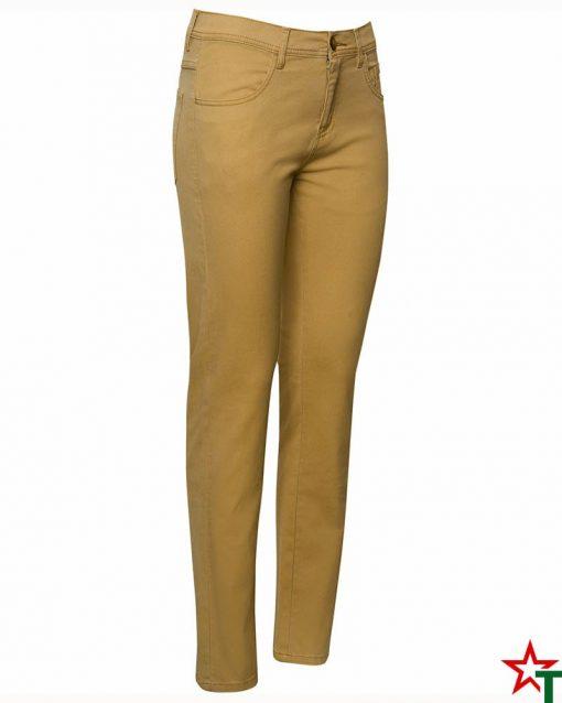Light Gold Дамски елегантен панталон Hiltons