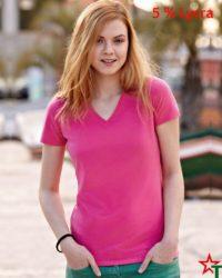 Дамска тениска Lady Elegant V Neck