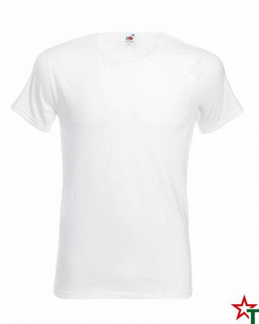 BG67 White Мъжка тениска Sport Fit