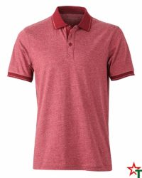 Red Melange Мъжка риза Polo Heather