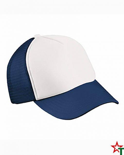 Пет панелна шапка Polyester mesh cap