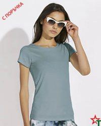 Steel Blue Дамска тениска Wants
