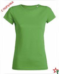 Green Дамска тениска Wants