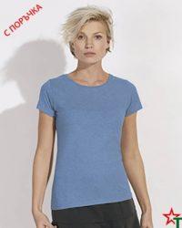 Blue Melange Дамска тениска Stella Wants Essential