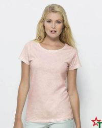 Cream Heather Grey Pink Дамска тениска Stella Wants Essential