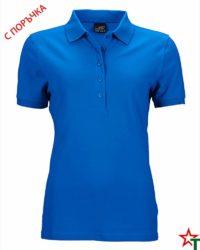 Дамскa риза Elastic Polo Pique